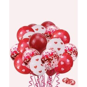 NEW! 43 Piece Heart Balloon Set